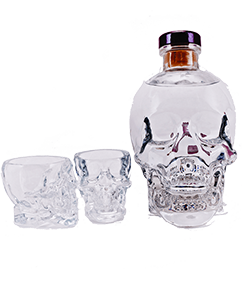 Crystal Head Vodka Skull Shot (gift set)