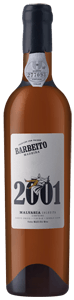 Barbeito Single Cask Malvasia 2001 Cask 719 d+e 2001