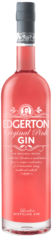 Edgerton Original Pink Gin (70cl) NV