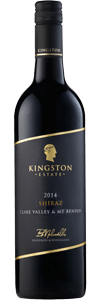 Kingston Estate Clare Valley Mount Benson Shiraz 2014