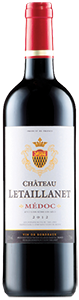 Château Letaillanet Medoc 2012