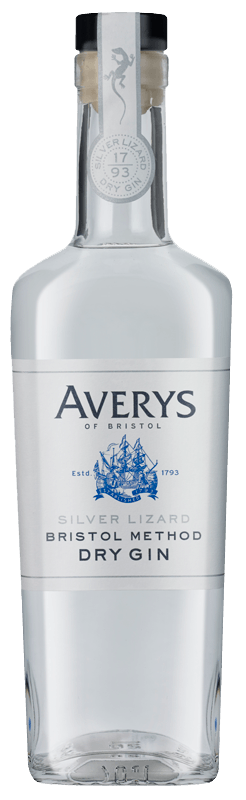 Averys Silver Lizard Bristol Method Dry Gin NV