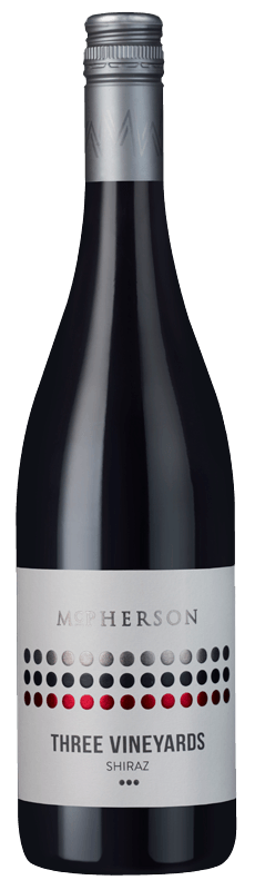 McPherson Three Vineyards Shiraz 2018